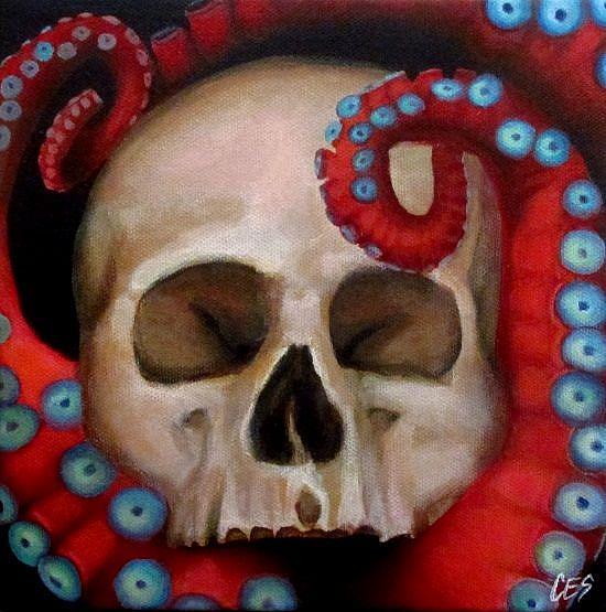 Art: The Deep by Artist Christine E. S. Code ~CES~