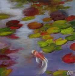 Art: Butterfly Koi by Artist Christine E. S. Code ~CES~