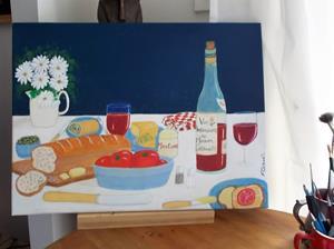 Detail Image for art Light Lunch