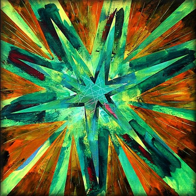 Art: Starburst 2 by Artist Amanda Hone