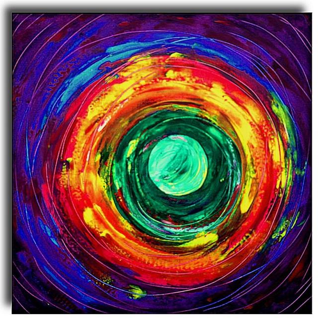 Art: Molecule by Artist Amanda Hone