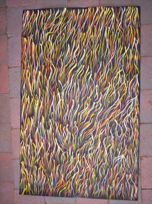 Art: Porcupine Grass by Artist Gypsy {Ani } T.  Draven