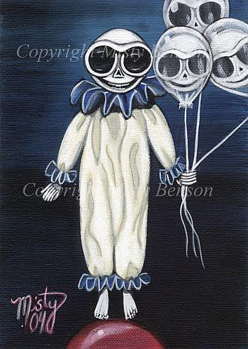 Art: Do You Want a Balloon? by Artist Misty Monster (Benson)