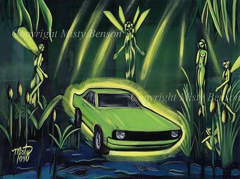 Art: Born on the Bayou by Artist Misty Monster (Benson)