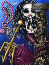 Art: Mermaid Memoirs: The Fall of Atlantis by Artist Misty Benson