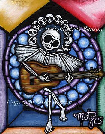 Art: Skelly Choir by Artist Misty Monster (Benson)