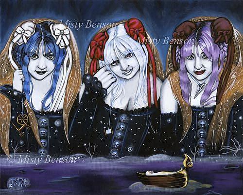 Art: Morgan of the Shades by Artist Misty Monster (Benson)