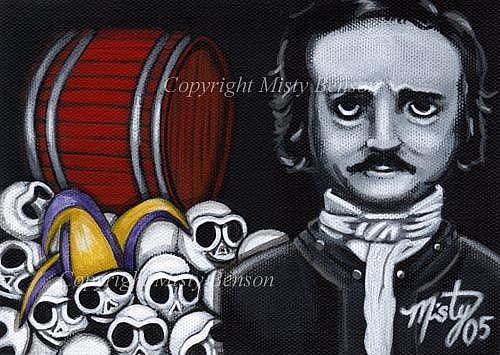 Art: Edgar Allen Poe: The Cask of Amontillado by Artist Misty Benson