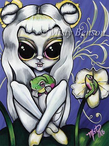 Art: Orchid by Artist Misty Monster (Benson)