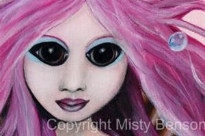 Detail Image for art Porcelain Mermaid