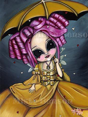 Art: My Rococo Valentine by Artist Misty Benson