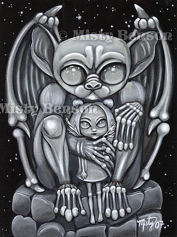 Art: Gargoyle by Artist Misty Monster (Benson)