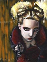 Art: Underworld by Artist Misty Benson