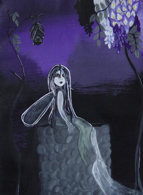 Art: Wisteria Faery by Artist Misty Monster (Benson)