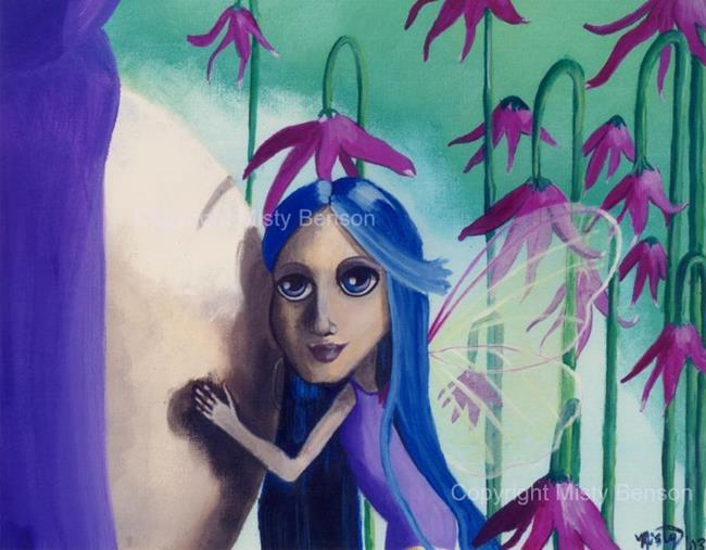 Art: Faery Blessings by Artist Misty Monster (Benson)