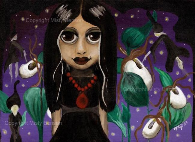 Art: Gothling's Garden by Artist Misty Monster (Benson)