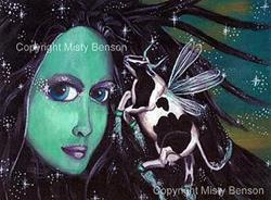 Art: Cowpanions by Artist Misty Benson