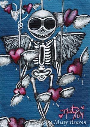 Art: Heartstrings by Artist Misty Monster (Benson)