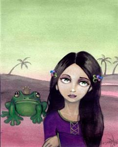 Detail Image for art Sometimes a Frog is Just a Frog