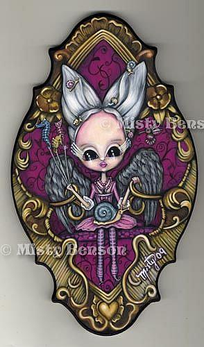 Art: Dreaming Chair by Artist Misty Monster (Benson)