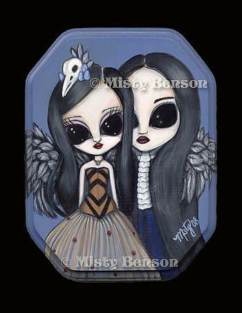 Art: The Ravens by Artist Misty Monster (Benson)