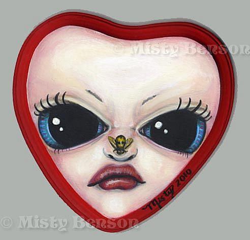 Art: Queen's Tart #4 by Artist Misty Monster (Benson)