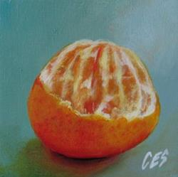 Art: Smashing Orange by Artist Christine E. S. Code ~CES~
