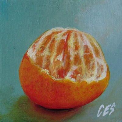 Art: Smashing Orange by Artist Christine E. S. Code ~CES~