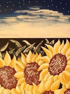 Detail Image for art A Storm of Sunflowers