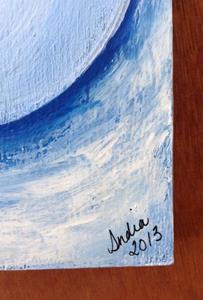 Detail Image for art Drowsy Snowmen