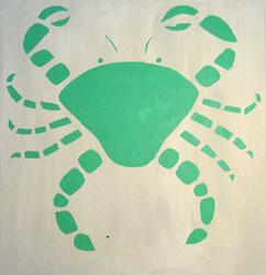 Art: Crab by Artist Dee Turner