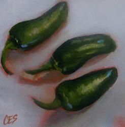 Art: The Three Amigos by Artist Christine E. S. Code ~CES~