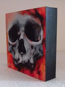 Detail Image for art Halloween Skull