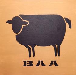 Art: BLACK SHEEP by Artist Dee Turner