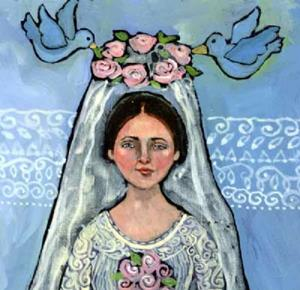 Detail Image for art The Bride