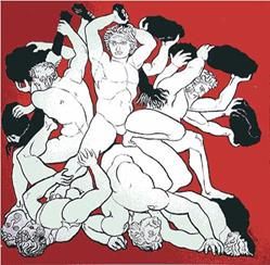Art: Titans v Giants by Artist Paul Helm