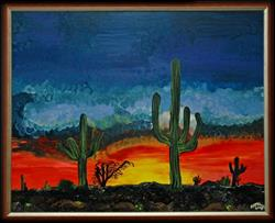 Art: Arizona by Artist Andrew Myles McDonnell (Andy Myles)