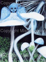Art: Destroying Angel by Artist Misty Benson