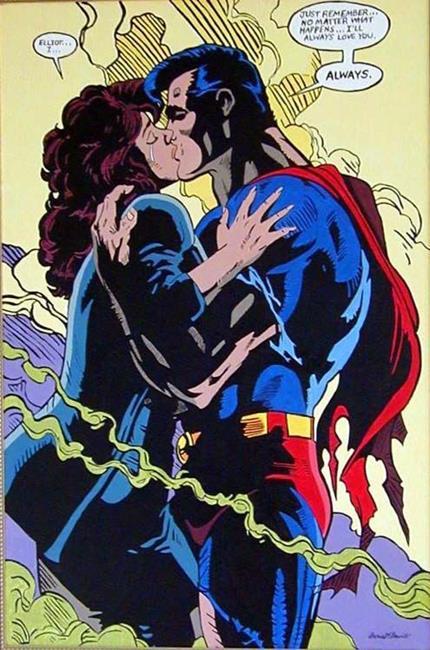 Art: Superman by Artist Doris H. David