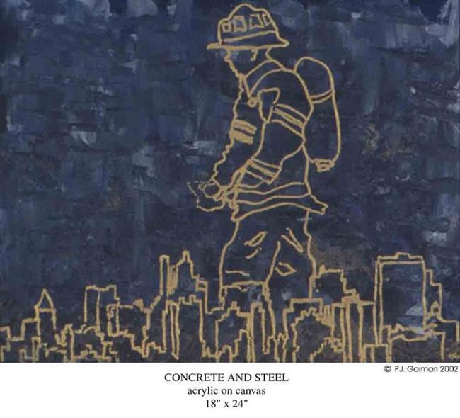 Art: Concrete and Steel by Artist PJ Gorman