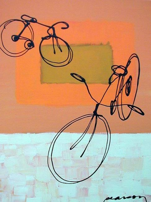 Art: Bicycle #4 by Artist James Pearson