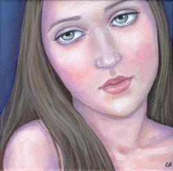 Art: Camille by Artist Gintare Bruzas