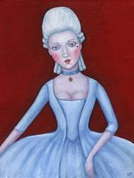 Art: Mademoiselle - sold by Artist Gintare Bruzas