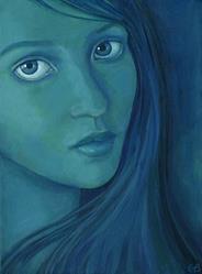Art: Evelina by Artist Gintare Bruzas