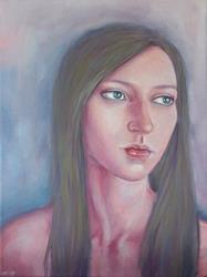 Art: Reflection by Artist Gintare Bruzas