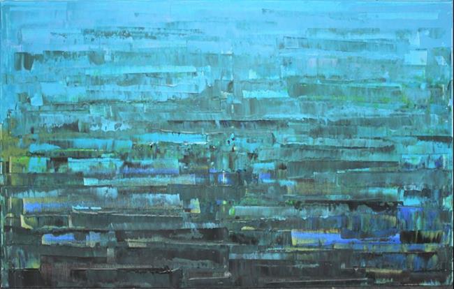 Art: Abstraction - 93 (s) by Artist Luba Lubin