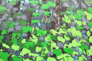 Detail Image for art Spring Forest 100x150x4 (s)