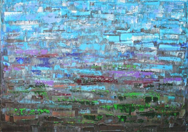 Art: Abstraction - 110 (s) by Artist Luba Lubin