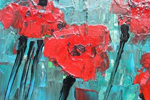 Detail Image for art Red Carnations (s)