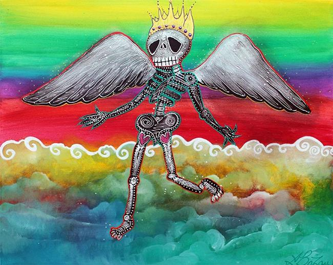 Art: Heaven is for Real by Artist Laura Barbosa